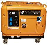 Diesel Stromaggregat HMG-DG-6500S Diesel Stromerzeuger 5,5kW 230V