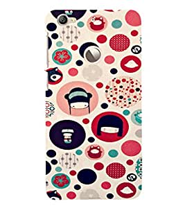 EPICCASE Cute Face Case Mobile Back Case Cover For LeEco Le 1s Eco (Designer Case)