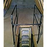 El Deluxe Metal Envolvente De Loft Rail barandilla