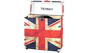 Victrola Vinyl Record LP Storage Case - UK Flag