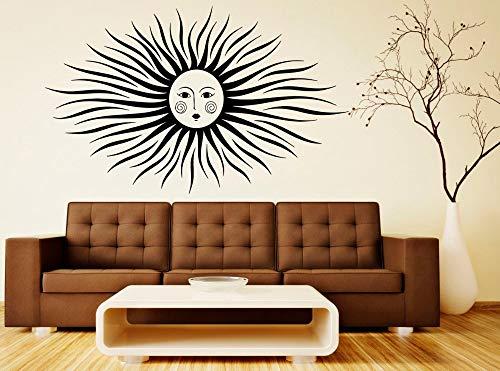 Kalifornien Post (Nette Sonne Mit Schönen Gesicht Kunst Wandaufkleber Speziell Gestaltete Wandbild Für Zuhause Schlafzimmer Kunst Liebevolle Dekorative Vinyl Post Wm 42x66 cm)