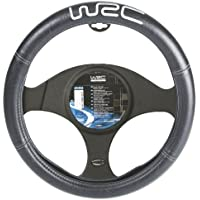 WRC 007380 Couvre-Volant Noir Brodé Argent