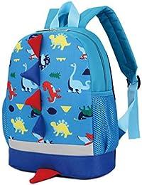 Preisvergleich für GWELL Dinosaurier Babyrucksack Kindergartenrucksack Kleinkind Kinder Rucksack Mädchen Jungen Backpack Schultasche