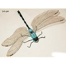ERRO Libélula Azul, Grande–con Magnético. El Original con Erro Pegatinas y en la mejor calidad de Erro. empasa magnético, animales magnético, dekomagnet, magnético, colectora Frigorífico magnético, regalo de cumpleaños, muy bonito regalo Idea