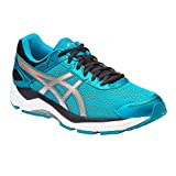 Asics Herren Gel-Fortitude 7 (2E) Laufschuhe (48, Blue Jewel/Silver/Flame Orange)