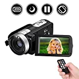 Camcorder HD 1080P Digitale Videokamera Recorder 24MP 16X Digitalzoom Portable Video Camcorder mit 3,0