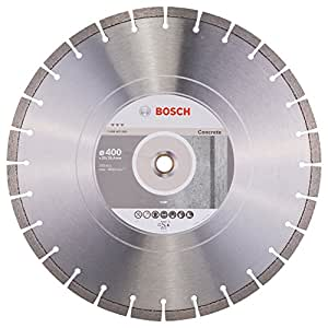 Bosch 2608602659 Disque à tronçonner diamanté best for concrete 400 x 20,00 + 25,40 x 3,2 x 12 mm