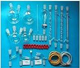 Gowe Laborglas-Kit, mit Gelenke 24/40, des244003, Borosilikatglas, neue Advanced Chemie