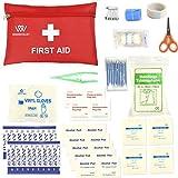 Erste Hilfe Kit, Portable Medical Bag Survival Emergency Erste Hilfe sets von WOODHEART, bereiten für Auto, Haus, Picknick, Camping, Reisen und andere Outdoor-Aktivitäten