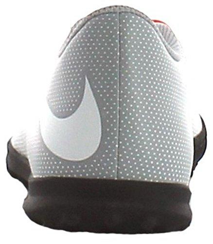 Nike Bravatax Ii Tf, Scarpe da Calcio Uomo Blanco (White / White-Wolf Grey-Total Crimson)