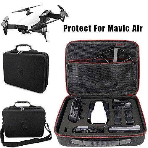 kingko For DJI MAVIC Air DJI tragbare Aufbewahrungsbox Messenger Bag Rucksack Wasserdichte tragbare Umhängetasche Handheld Aufbewahrungstasche Schützen für DJI Mavic Air