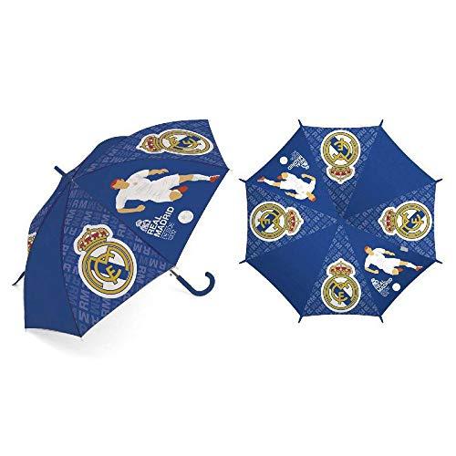 ARDITEX RM12974 Paraguas poliéster Real Madrid CF