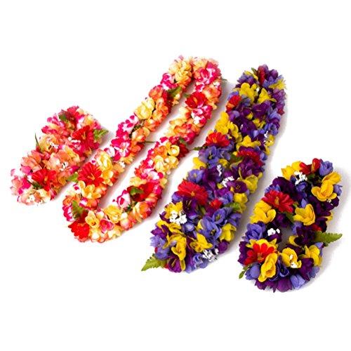 Tinksky-2-flor-Hawai-guirnalda-collar-diadema-casco-Set-para-fiesta-Luau-fiesta-Luau-fiesta-favorece