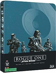 Rogue One: A Star Wars Story[Steelbook Blu-ray 3D] [Combo Blu-ray 3D + Blu-ray + Blu-ray Bonus - Édition Collector Limitée boîtier SteelBook]