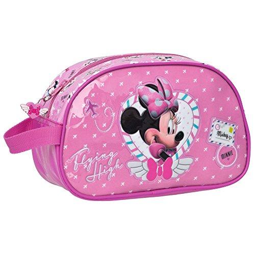 Disney Neceser de Viaje Minnie, Rosa