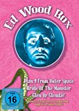 Ed Wood Box (Plan 9 from outer Space, Glenn or Glenda?, Bride of the Monster + Bonusmaterial)(OmU) [3 DVDs]
