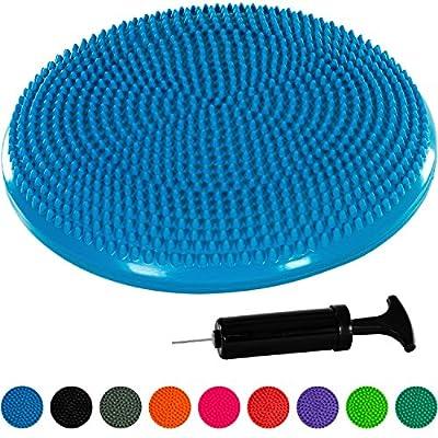 MOVIT® Ballsitzkissen inkl. Pumpe, phthalatfrei, TÜV SÜD getestet, 9 Farbvarianten, 2 Größen: 33cm bzw. 37cm von MOVIT®