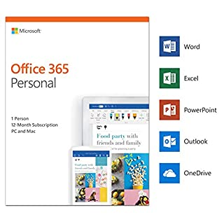 Microsoft Office 365 Personal | 1 user | 1 year | PC/Mac | download (B00JLPEL2I) | Amazon Products