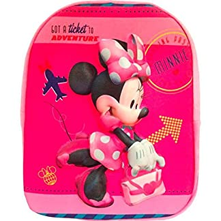 Mochila 3D Minnie Disney soft 31cm