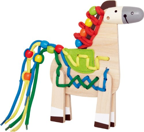 Hape E1016 - Pony con I Lacci