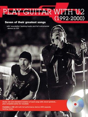 Guitar Kiss Book Tab (Play Guitar With U2, 1992 - 2000, w. Audio-CD)