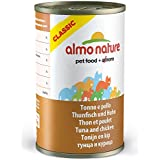 Almo Nature Wet Cat Food Tradition Classic Adult Tuna With Chicken 24 x 140g Cans