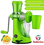 #9: One Stop Shop Ambition Fruit And Vegetable Juicer With Steel Handle And Waste Collector (Multicolor)
