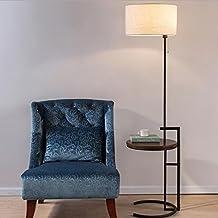 AMOS Sala de estar moderna con lámpara de pie minimalista Habitación de hotel de estilo europeo con lámpara de mesita de noche