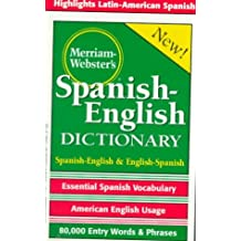 Merriam-Webster's Dictionary Espagnol-Anglais
