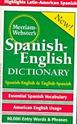 Merriam-Webster's Dictionary Espagnol-Anglais