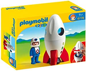 Playmobil - 6776 - Jeu de construction - Fusée et spationaute
