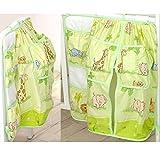 Betttasche 60x70cm mit Windelbehälter D44 Utensilie Bett Tasche Utensilientasche Babybett