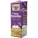 Isola Bio Bebida Vegetal de Arroz Integral - Paquete de 6 x 1000 ml - Total: 6000 ml