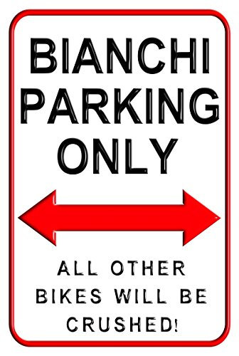 bianchi-parking-only-20-x-30-cms-medium-metal-motorcycle-parking-wall-sign