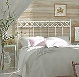 HOGARES CON ESTILO - Cabecero de Forja nacional modelo SOFIA para una cama de 135 cms. (Varios colores y medidas...