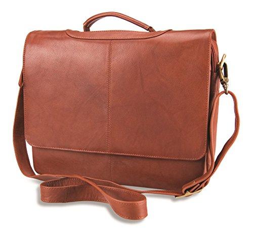 Visconti Umhängetasche / Organizer-Tasche A4 für Damen - Echtes Leder - # 659 Braun