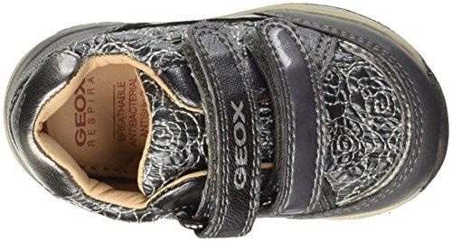 Geox B Rishon A, Chaussures Marche Bébé Fille Grau (DK GREYC9002)