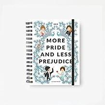 Superbritánico · Agenda Educada 2018 'More pride and less prejudice' - (Orgullo y Prejuicio - Jane Austen - Agenda anual)