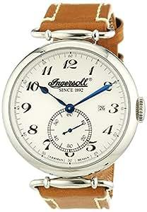 Ingersoll Herren-Armbanduhr XL Analog Automatik Leder IN1315SL