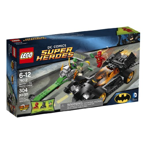 LEGO 76012 Superhelden Batman: The Riddler Chase (Superheroes Batman Lego Dc)