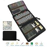 Crayon de Couleur Kit de Dessin Pro,meilleur crayon de couleur, Coffret de Crayon de Couleurs Professionel Adultes et Enfants - Idéal pour Coloriage Adulte,Fourniture et Rentrée Scolaire