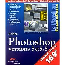 Photoshop 5 et 5.5 Sélection Campus (avec CD)