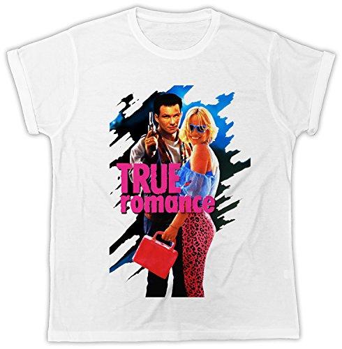 Uk print king True Romance Movie Poster Funny Gift Designer Unisex T-Shirt