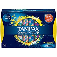 TAMPAX COMPAK PEARL Regular 36 tampones