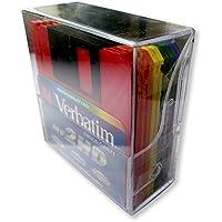 """Verbatim 45215 - Diskette 3.5"""" Formato Pc Pack 10 Caja Plastico Colores"""