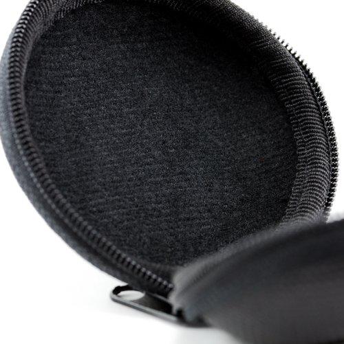 CSL - Kopfhörer Schutztasche | formstabile Nylontasche/weiches Stoffinnenfutter | schwarz - 5