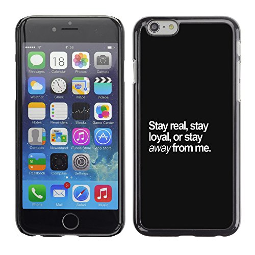 Graphic4You Like A Boss Design Harte Hülle Case Tasche Schutzhülle für Apple iPhone 6 / 6S Design #8