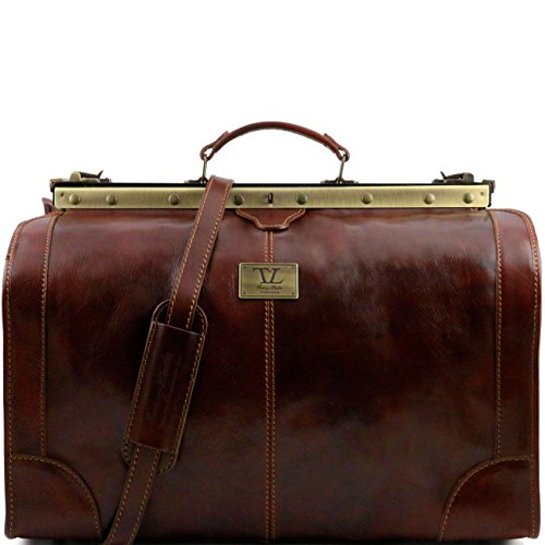 Tuscany Leather Madrid Sac de voyage en cuir - Grand modèle Marron