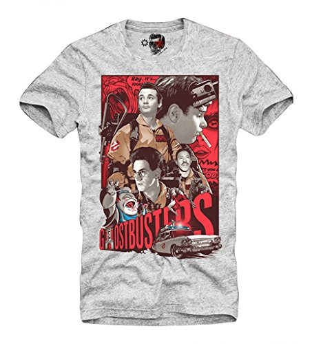 e1syndicate-t-shirt-ghostbusters-80s-bill-murray-blogger-blue-ray-slimer-gris-s-xl