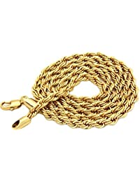 Chain For Men(Alloy Gold Plated Latest Men's Chain)